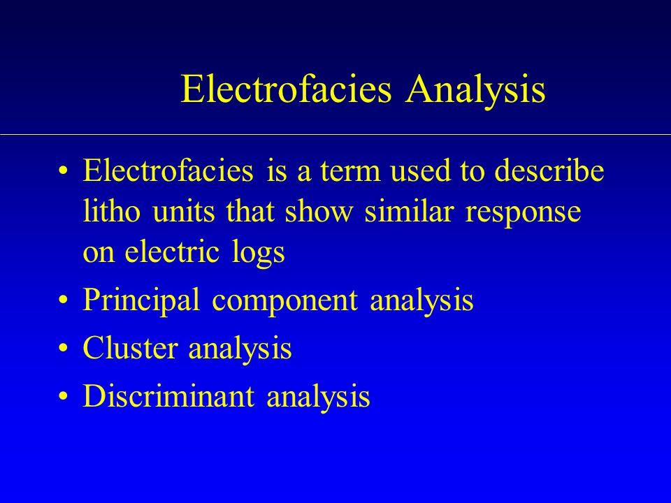Electrofacies Analysis