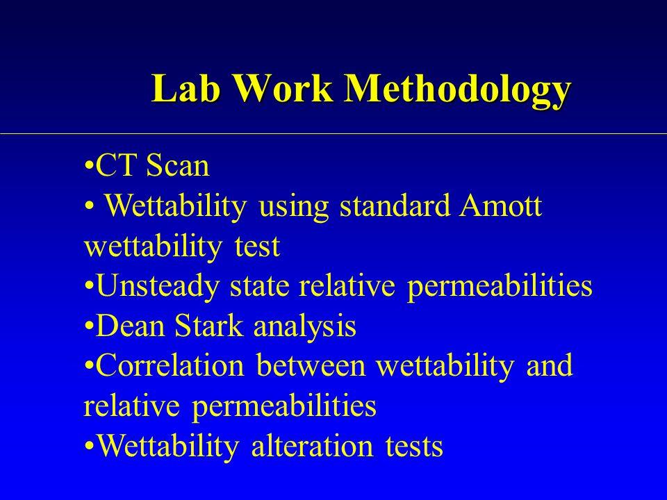 Lab Work Methodology CT Scan