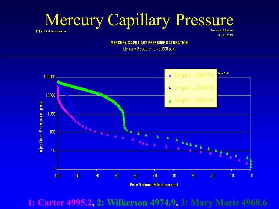Mercury Capillary Pressure