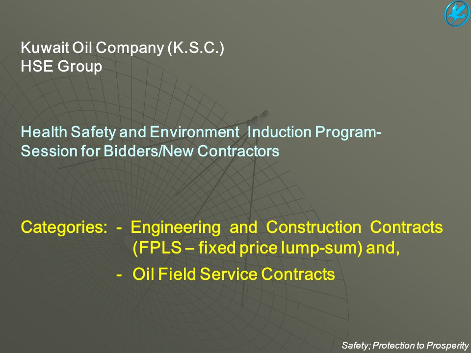 - Oil Field Service Contracts