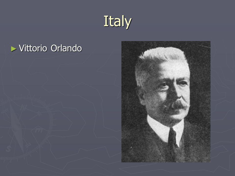 Italy Vittorio Orlando