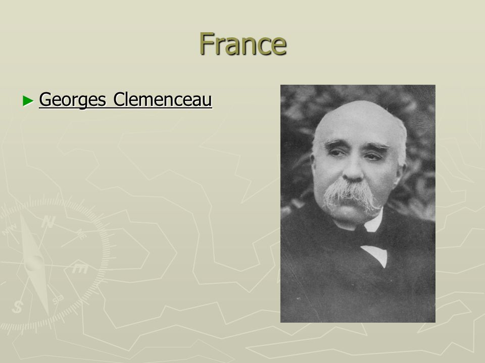 France Georges Clemenceau