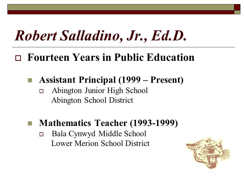 Robert Salladino, Jr., Ed.D.