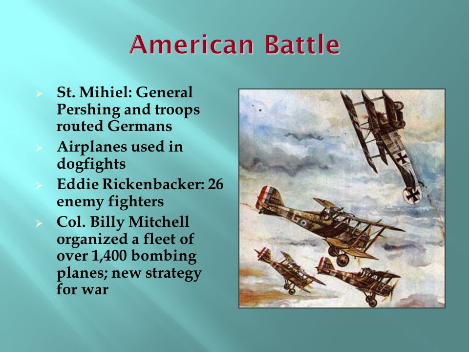 American Battle St. Mihiel: General Pershing and troops routed Germans
