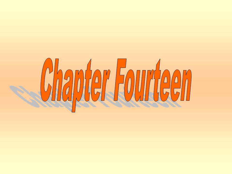 Chapter Fourteen Chapter Fourteen