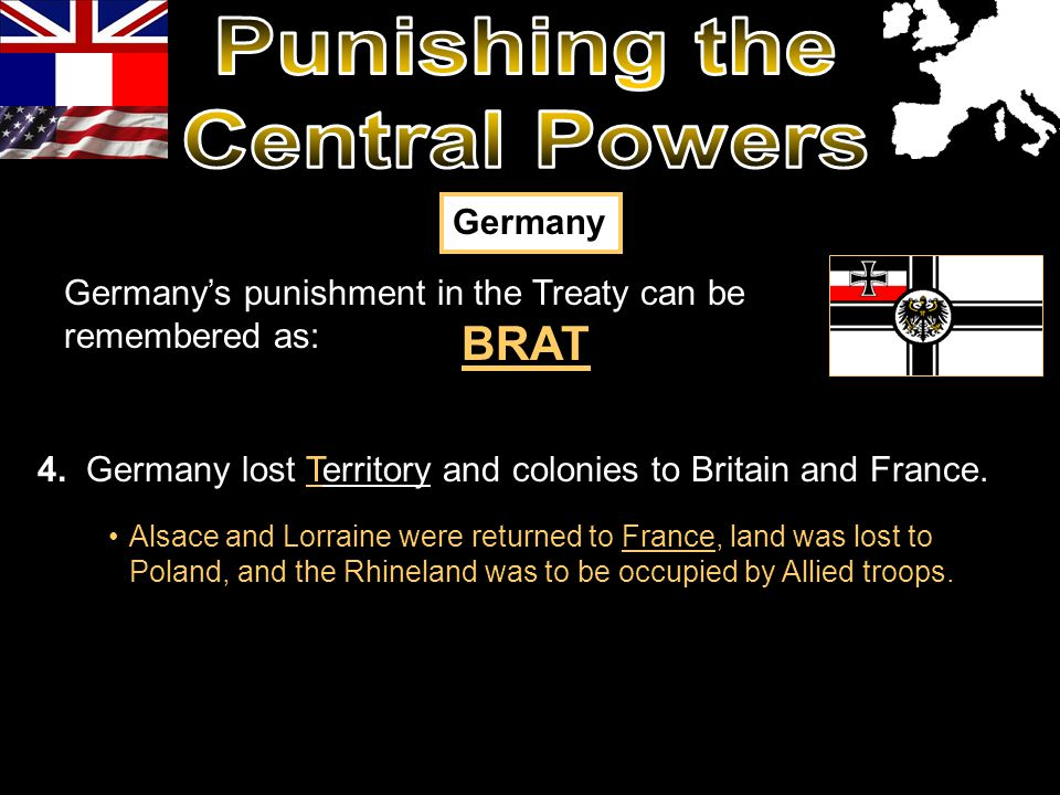 Punishing the Central Powers