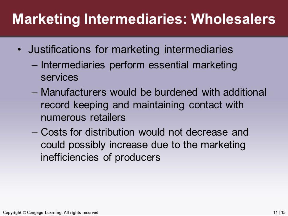 Marketing Intermediaries: Wholesalers