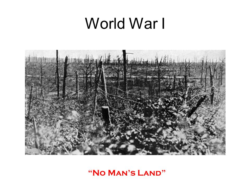 World War I No Man's Land