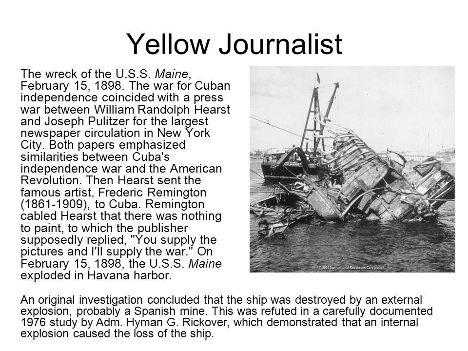 Yellow Journalist