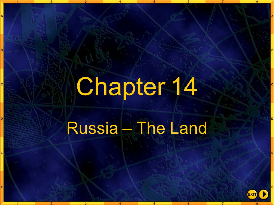 Chapter 14 Russia – The Land