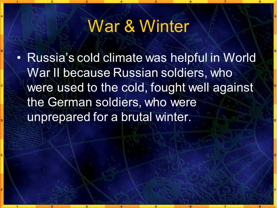 War & Winter