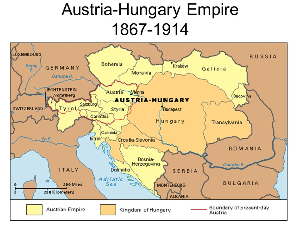 Austria-Hungary Empire 1867-1914