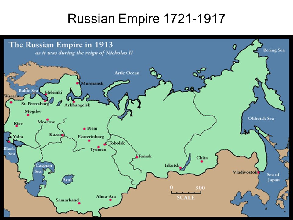 Russian Empire 1721-1917
