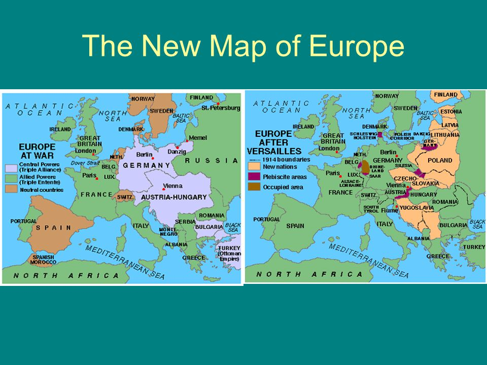 The New Map of Europe