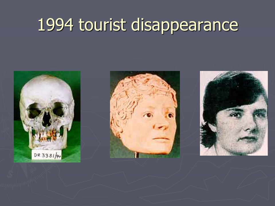 1994 tourist disappearance