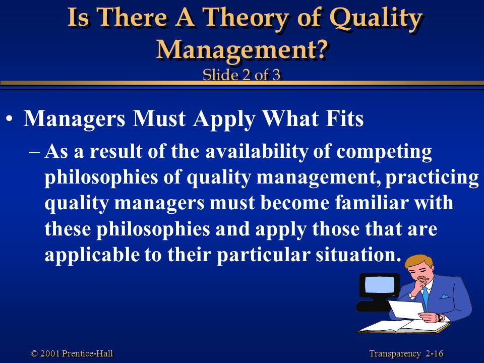 Is There A Theory of Quality Management Slide 2 of 3