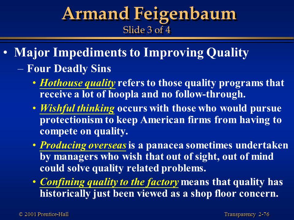 Armand Feigenbaum Slide 3 of 4