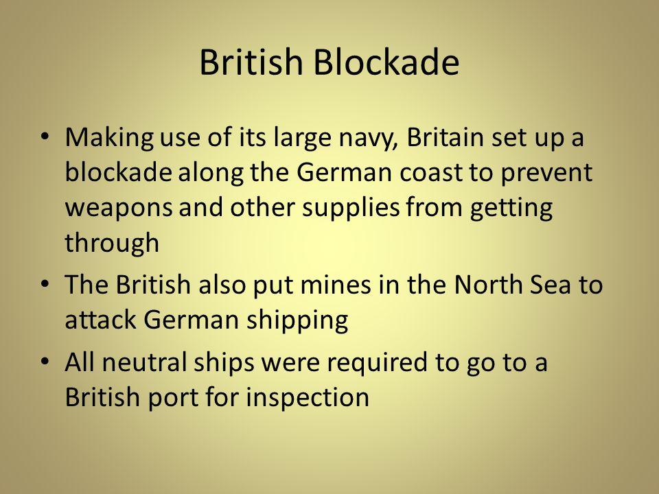 British Blockade