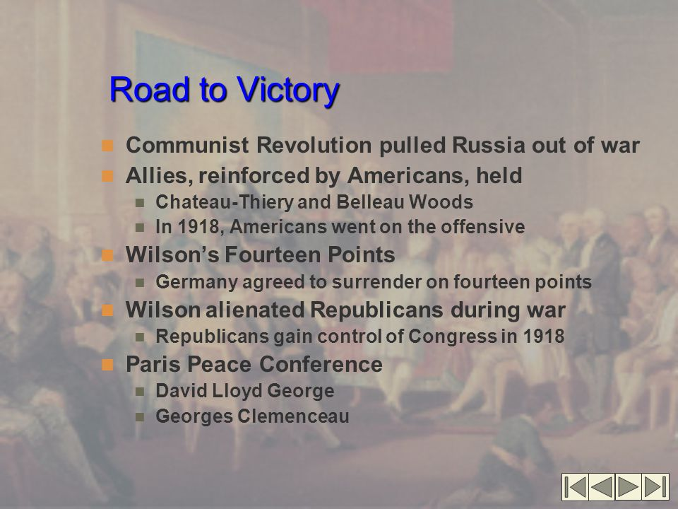 Road to Victory Communist Revolution pulled Russia out of war