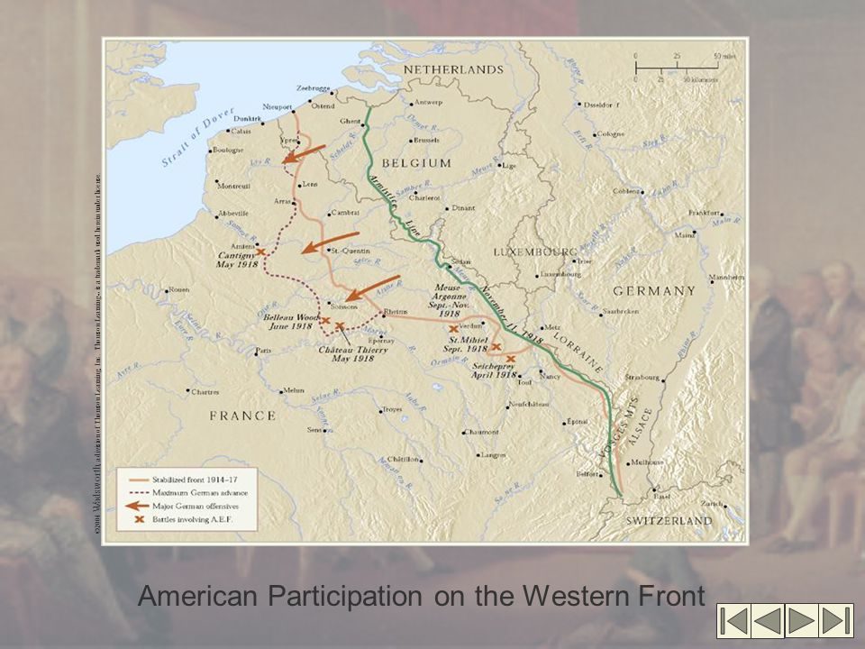 American Participation on the Western Front