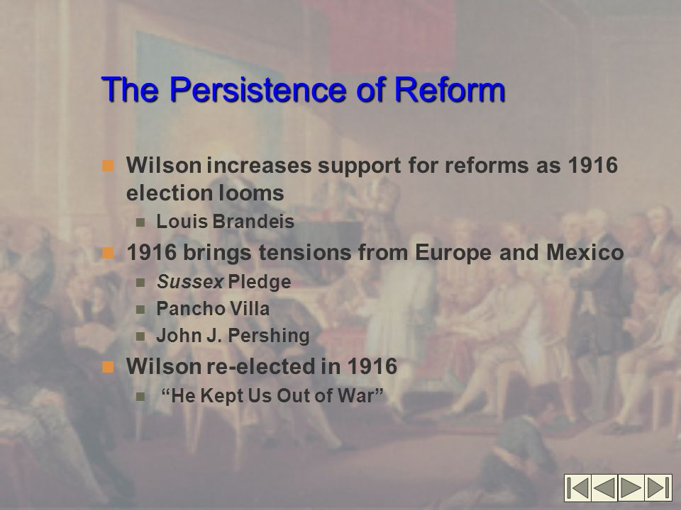 The Persistence of Reform
