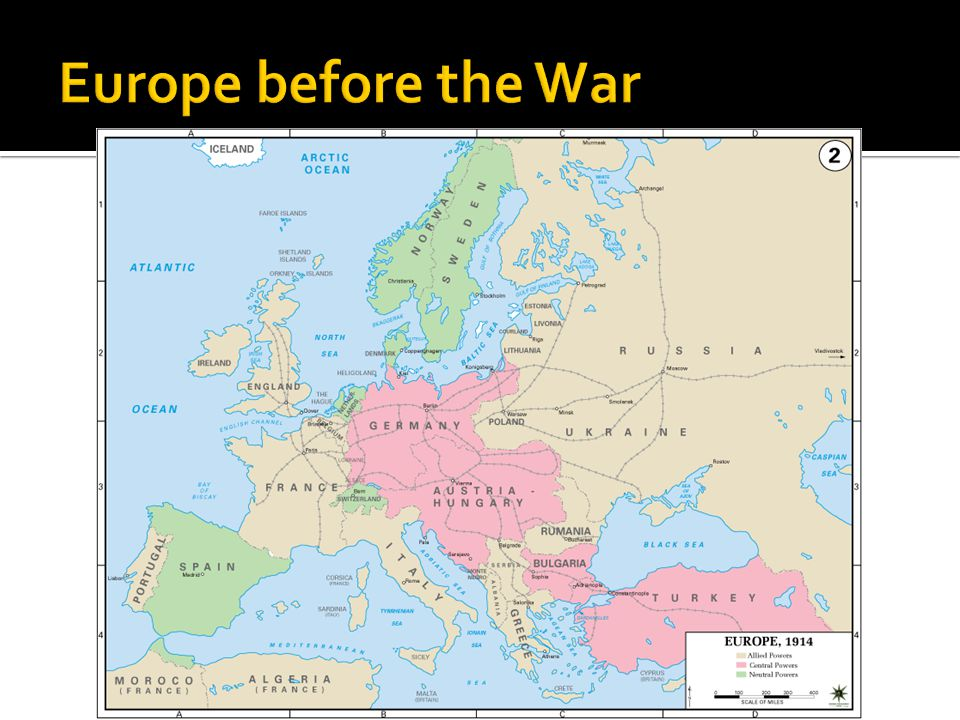Europe before the War