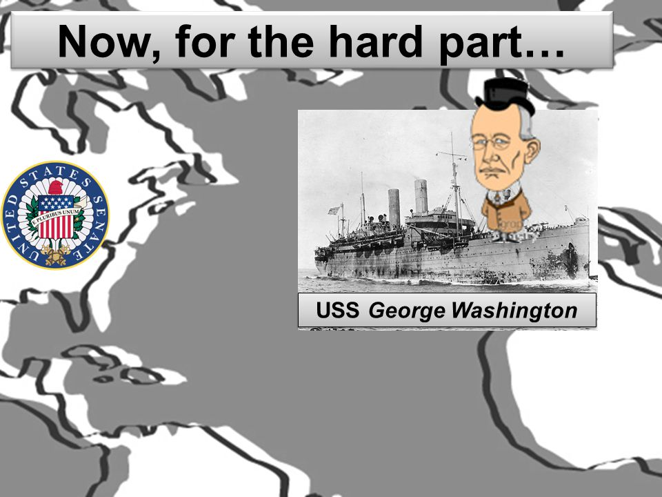 Now, for the hard part… USS George Washington