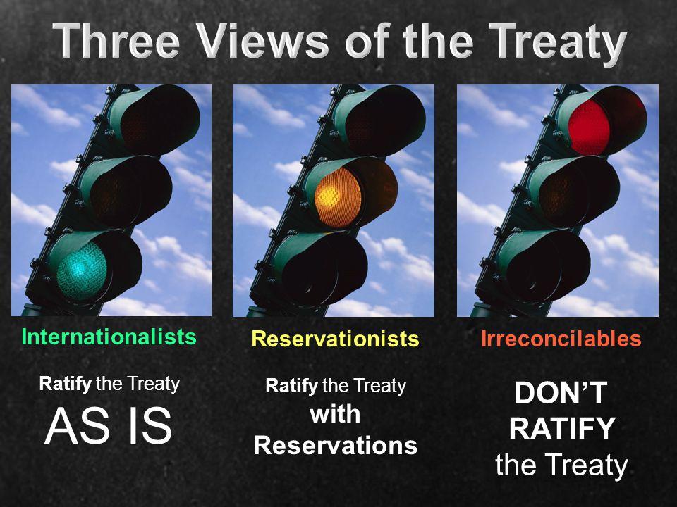 Three Views of the Treaty