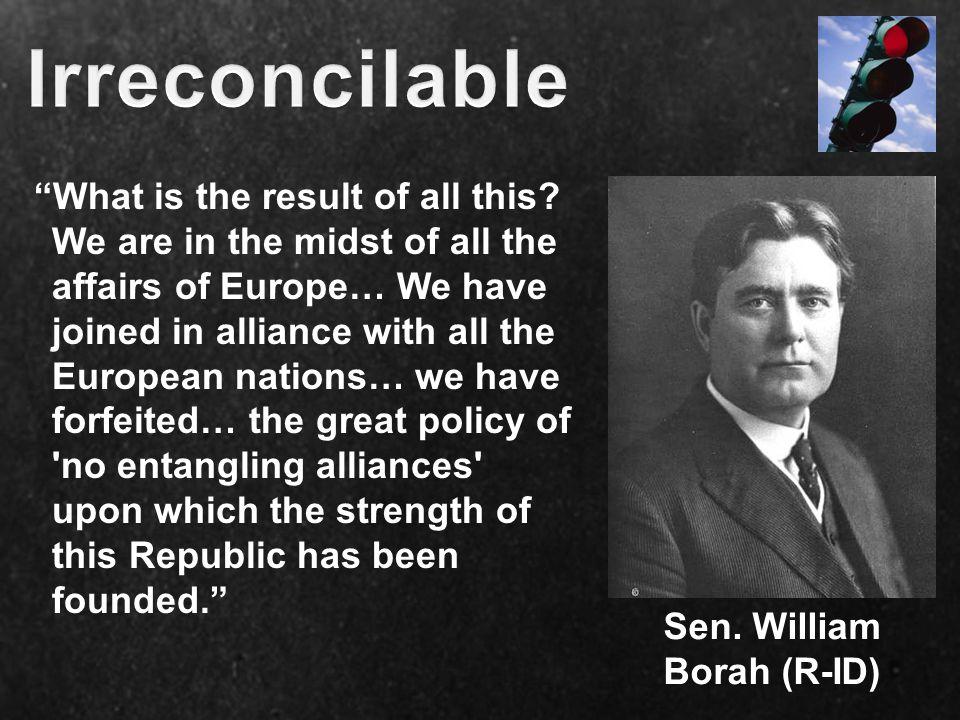 Sen. William Borah (R-ID)
