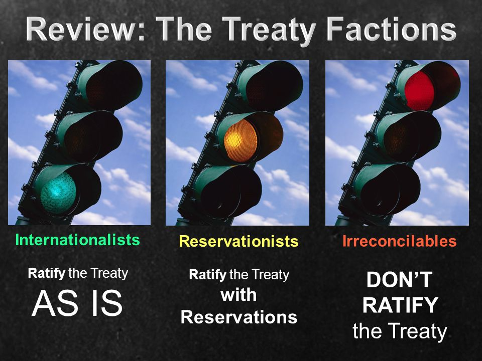 Review: The Treaty Factions