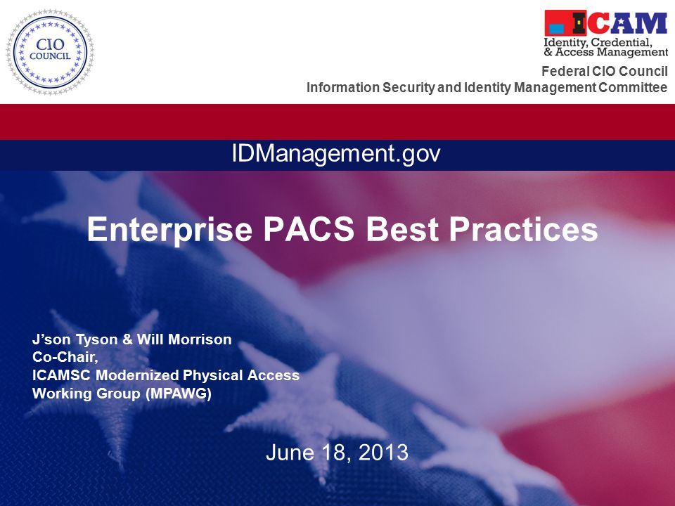 Enterprise PACS Best Practices