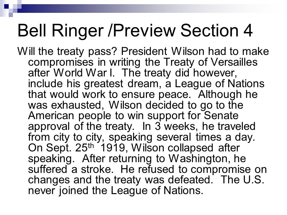 Bell Ringer /Preview Section 4
