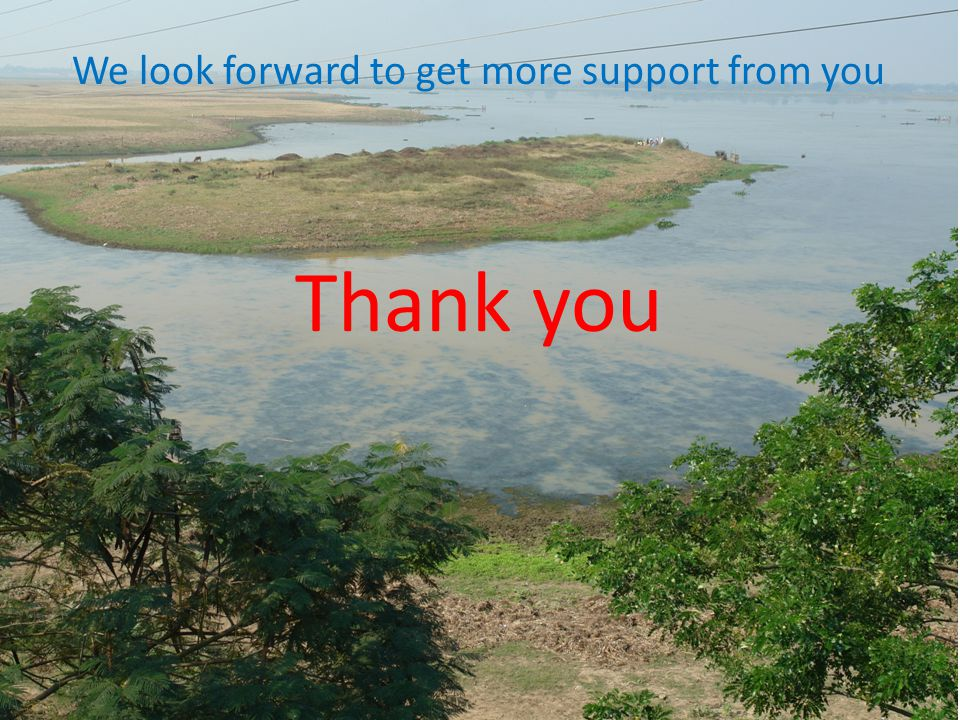 We look forward to get more support from you Thank you