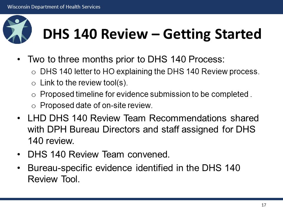 DHS 140 Review – Getting Started