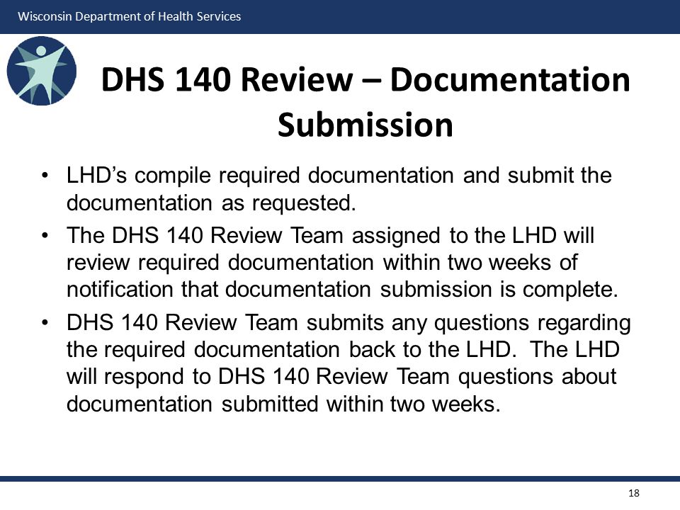 DHS 140 Review – Documentation Submission