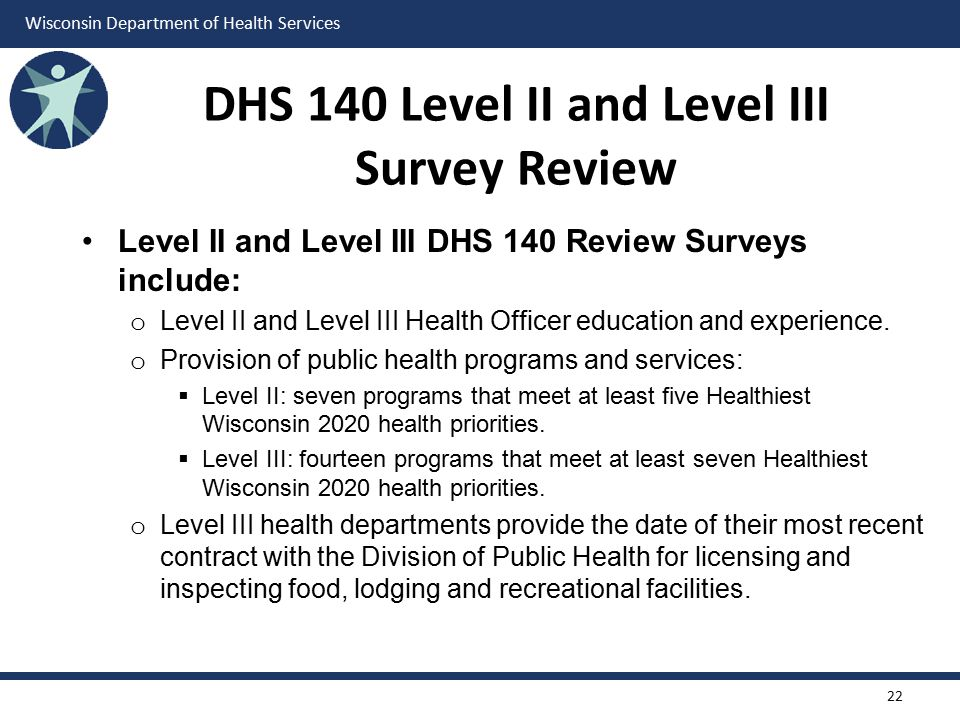 DHS 140 Level II and Level III Survey Review