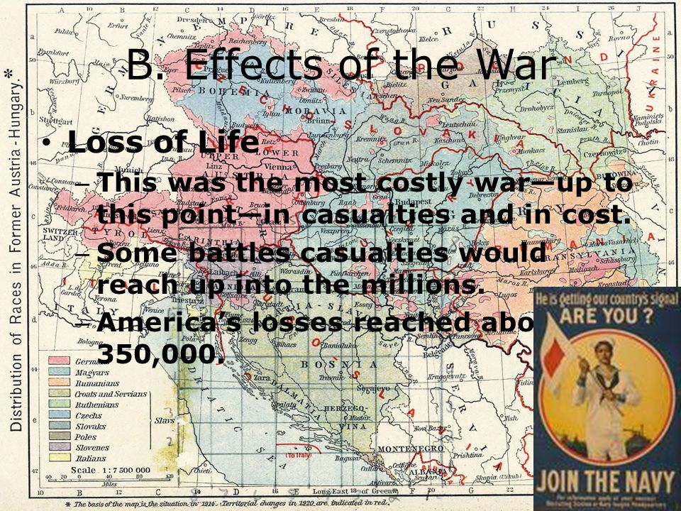 B. Effects of the War Loss of Life