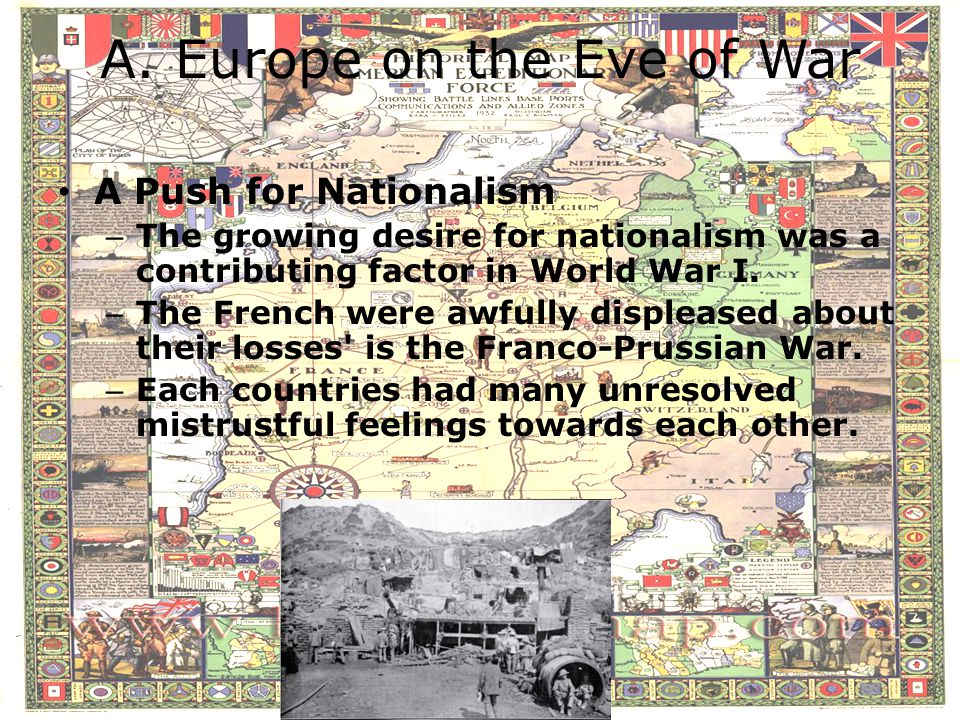 A. Europe on the Eve of War