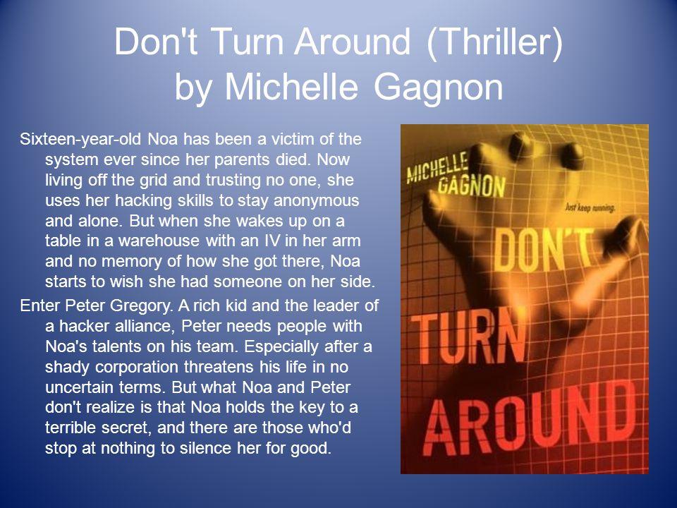 Don t Turn Around (Thriller) by Michelle Gagnon