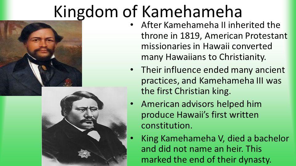 Kingdom of Kamehameha