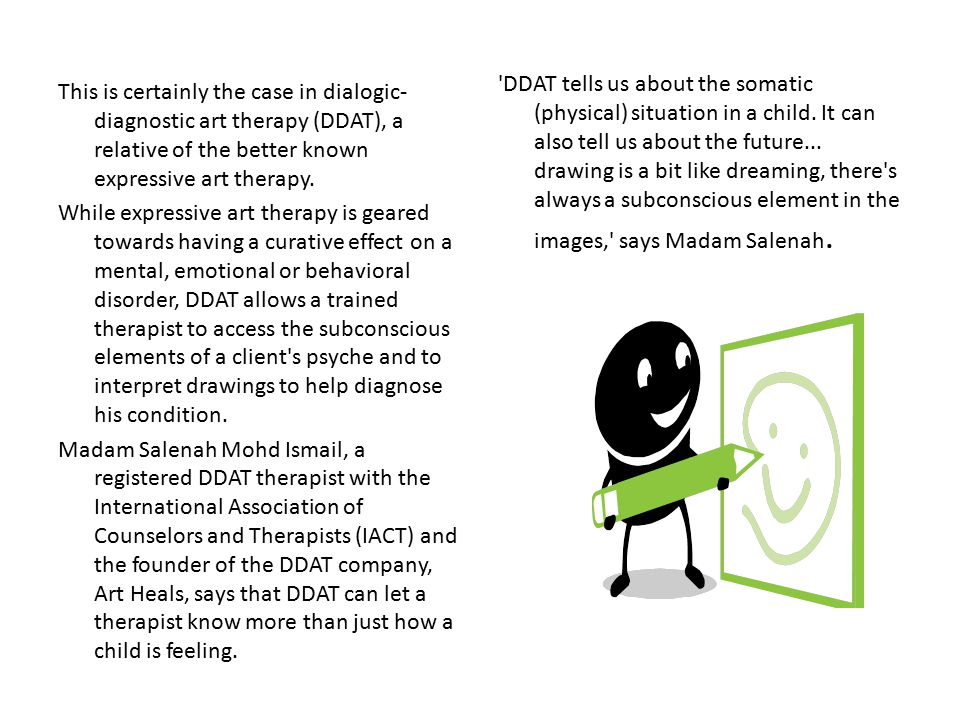 DDAT tells us about the somatic (physical) situation in a child