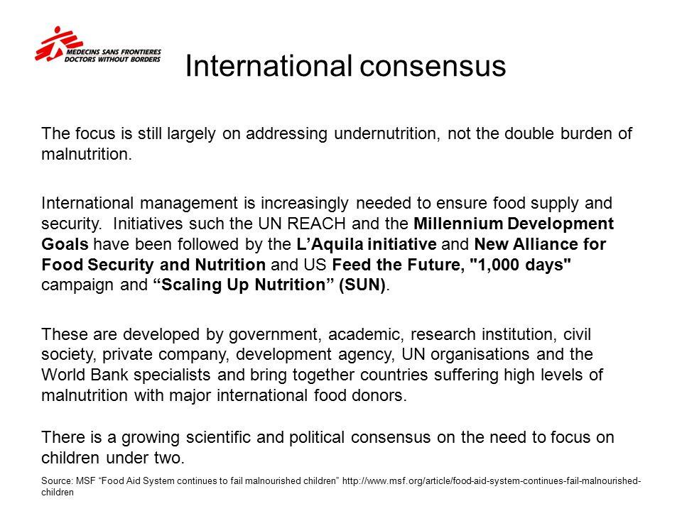 International consensus