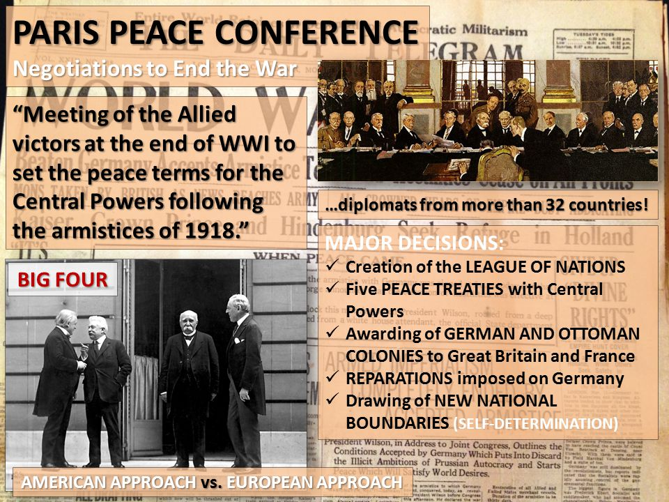 a peace to end all peace the treaty of versailles essay Essay writing guide learn evaluate the proposition that the treaty of versailles was a harsh peace to officially end the first world war, a peace treaty named.