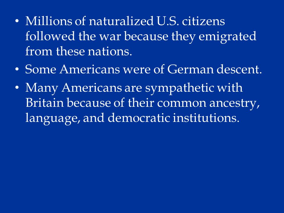 Millions of naturalized U. S