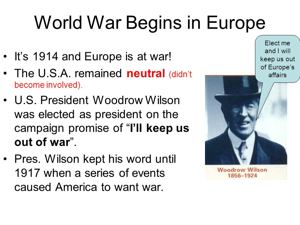 World War Begins in Europe