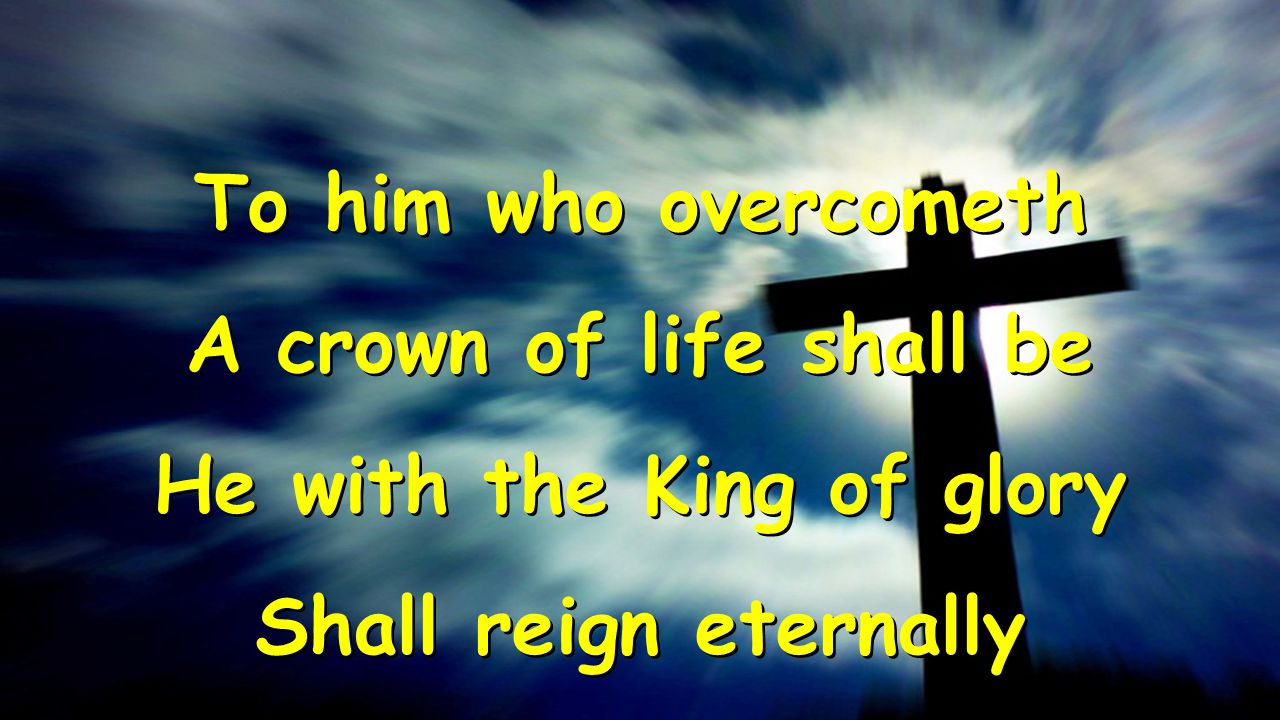 He with the King of glory