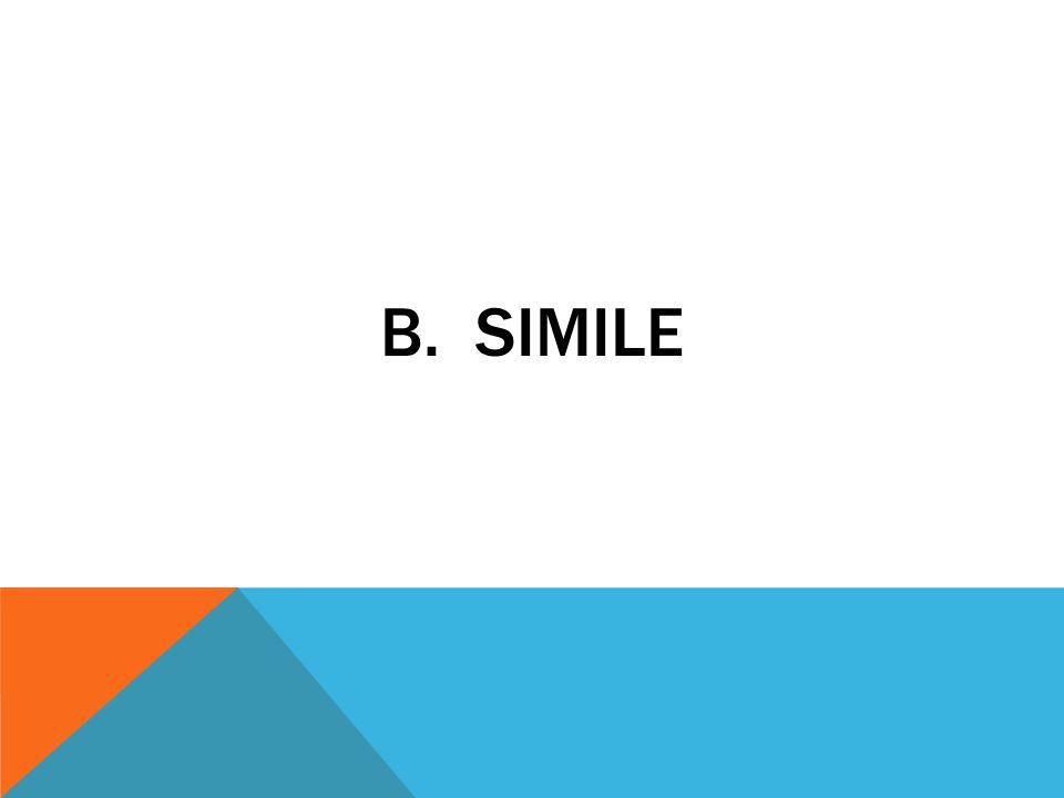 b. simile