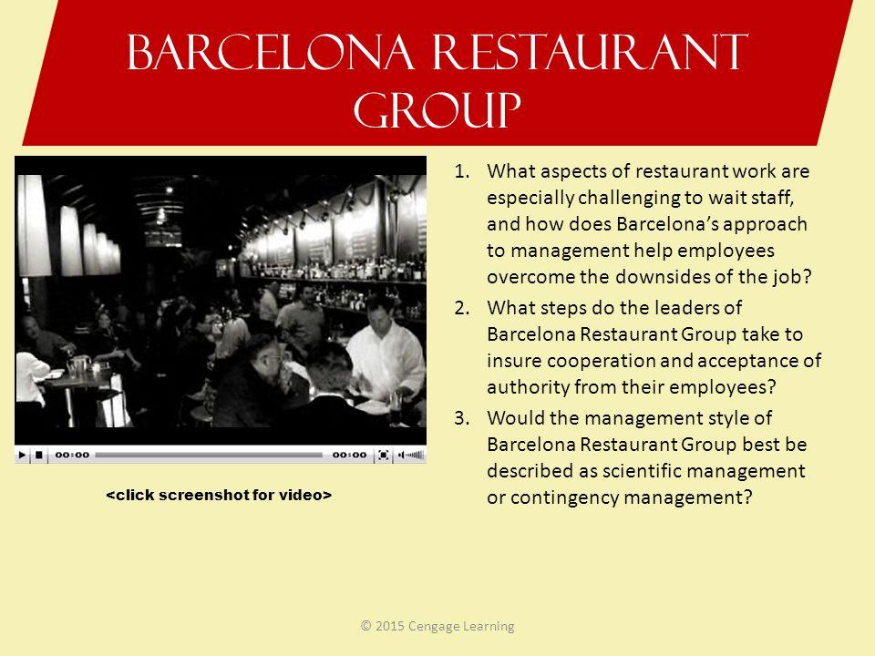 Barcelona Restaurant Group