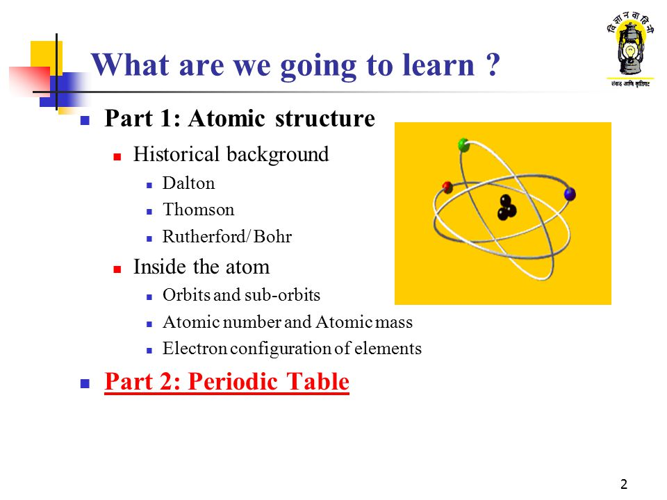 What are we going to learn