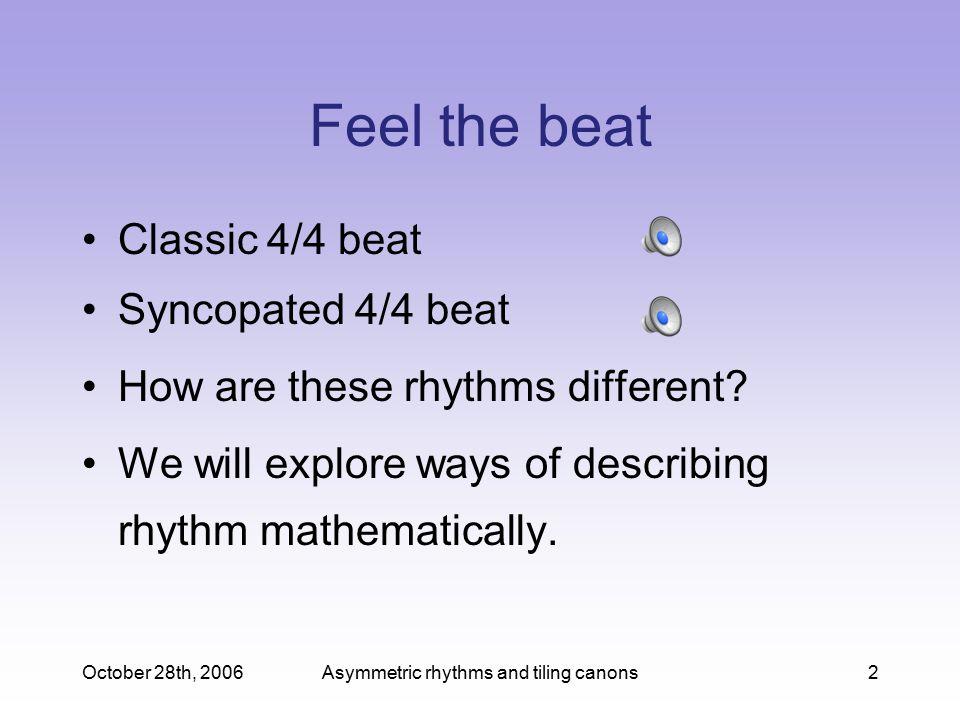 Asymmetric rhythms and tiling canons